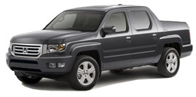 2014 Honda Ridgeline With Leather and Navigation RTL