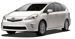 2014 Prius v Prius v Two Base