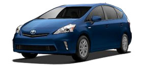 2014 Toyota Prius v Prius v Three Base