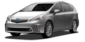 2014 Toyota Prius v Prius Wagon Five