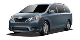 2014 Toyota Sienna 7 Passenger V6 LE