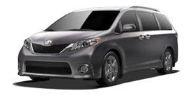 2014 Toyota Sienna 8 Passenger V6 SE