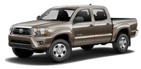 2014 Toyota Tacoma 4x4 Double Cab, V6 Manual Base