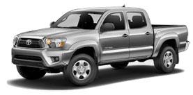 2014 Toyota Tacoma 4x4 Double Cab, V6 Automatic