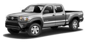 2014 Toyota Tacoma PreRunner Double Cab, V6 Automatic, Long Bed Base
