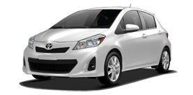 2014 Toyota Yaris Automatic SE Liftback