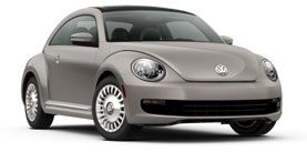 2014 Volkswagen Beetle With Sunroof, Sound and Nav  2.5L