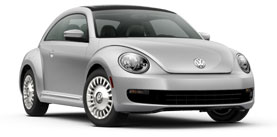 2014 Volkswagen Beetle With Sunroof  2.5L PZEV