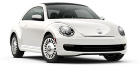 2014 Volkswagen Beetle With Sunroof, Sound and Nav  2.5L PZEV