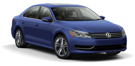 2014 Volkswagen Passat 1.8T PZEV with Sunroof SE