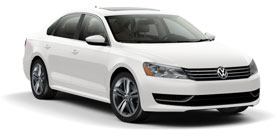 2014 Volkswagen Passat 1.8T PZEV with Sunroof and Navigation SE