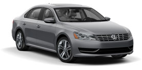 2014 Volkswagen Passat 2.0L with Sunroof and Navigation SE TDI