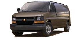 Express Cargo Van near Fort Wayne