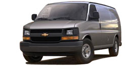 Express Cargo Van near New Haven