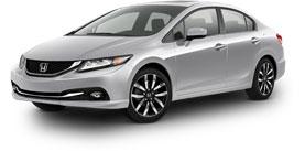2015 Honda Civic Sedan With Leather EX-L