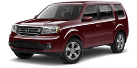2015 Honda Pilot With Leather and RES EX-L