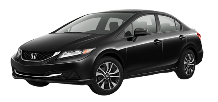 2015 Honda Civic EX 4D Sedan