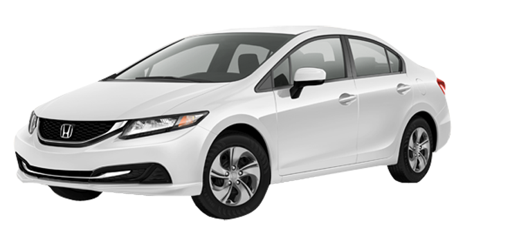 2015 Honda Civic LX 4D Sedan
