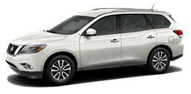 2015 Nissan Pathfinder 3.5L Xtronic CVT SV