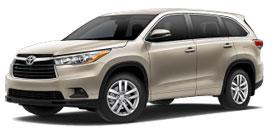 2015 Toyota Highlander LE 4D Sport Utility