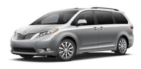 2015 Toyota Sienna 7 Passenger V6 Limited