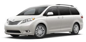 2015 Toyota Sienna 7 Passenger V6 XLE