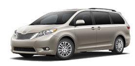 2015 Toyota Sienna 8 Passenger V6 XLE Premium