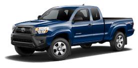2015 Toyota Tacoma 4x4 Access Cab, Manual  Base