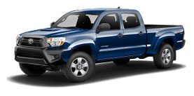 2015 Toyota Tacoma PreRunner Double Cab, V6 Automatic, Long Bed Base