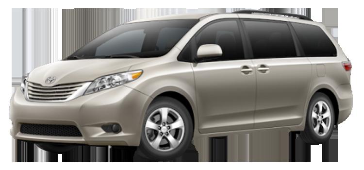2015 Toyota Sienna LE 4D Passenger Van