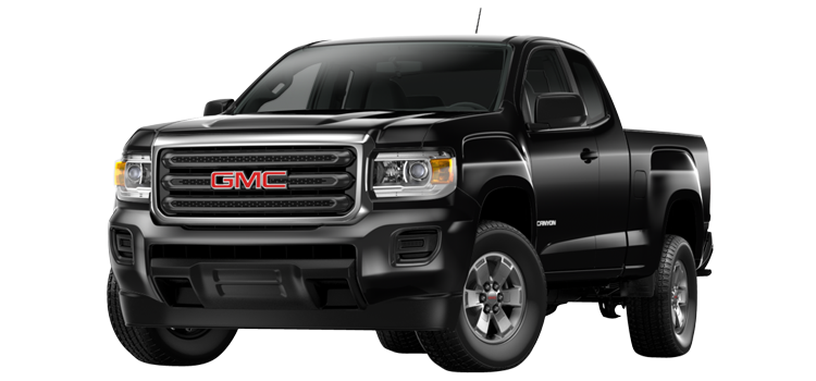 2016 GMC Canyon Extended Cab