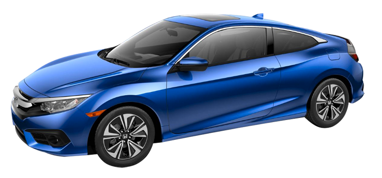 2016 honda civic coupe 1 5t l4 with leather ex l 2 door fwd coupe standardequipment. Black Bedroom Furniture Sets. Home Design Ideas