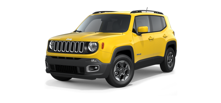 2016 Jeep Renegade Latitude 4 Door Fwd Suv 6m