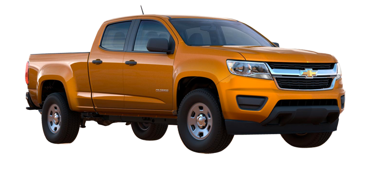 2017 Chevrolet Colorado Crew Cab Long Box Wt 4wd 4 Door