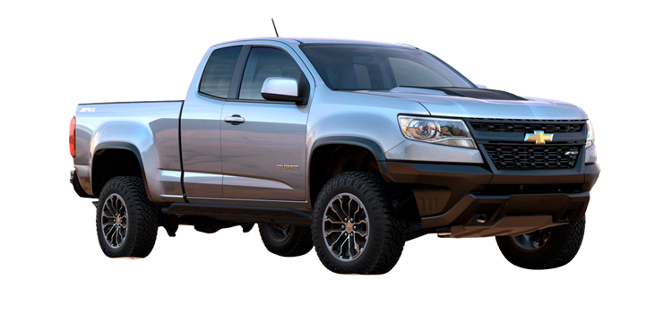 2017 Chevrolet Colorado Extended Cab Zr2 4wd 4wd Brochure Gene