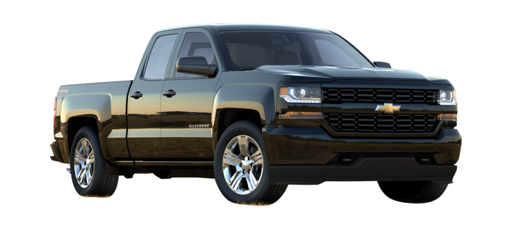 2017 Chevrolet Silverado 1500 Double Cab Standard Box 1cx