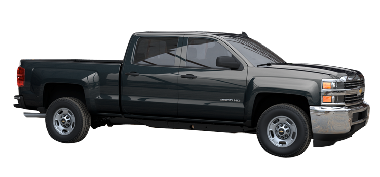 2017 chevrolet silverado 2500hd crew cab standard box wt 4 door rwd pickup colorsoptionsbuild. Black Bedroom Furniture Sets. Home Design Ideas