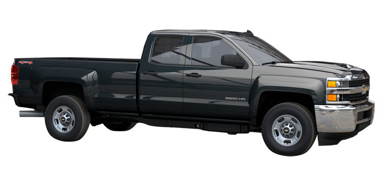 2017 chevrolet silverado 2500hd double cab long box wt 4 door rwd pickup colorsoptionsbuild. Black Bedroom Furniture Sets. Home Design Ideas