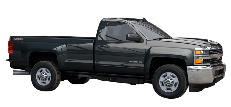 2017 Chevrolet Silverado 2500hd Regular Cab Long Box Lt 2