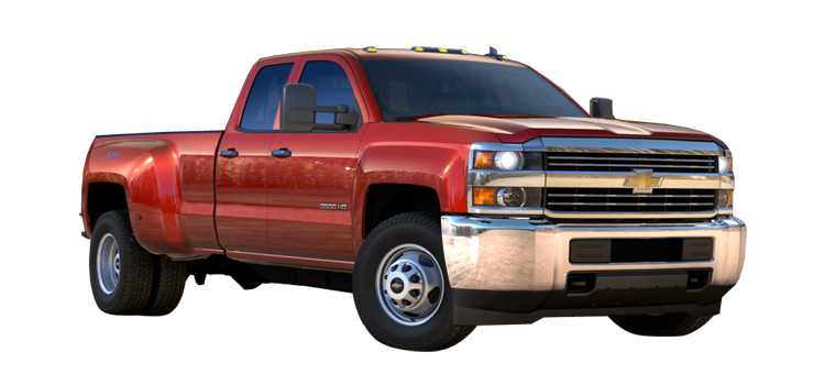 2017 Chevrolet Silverado 3500HD DRW Double Cab