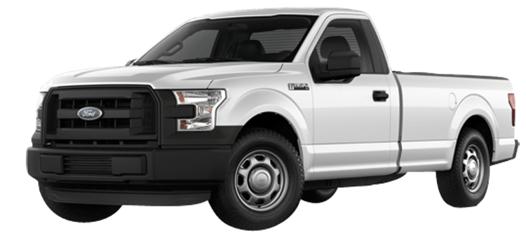 2017 Ford F-150 Regular Cab 8' Box XL