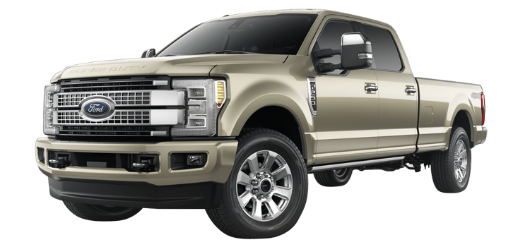 2017 Ford Super Duty F 250 Crew Cab 8 Box Platinum 4 Door