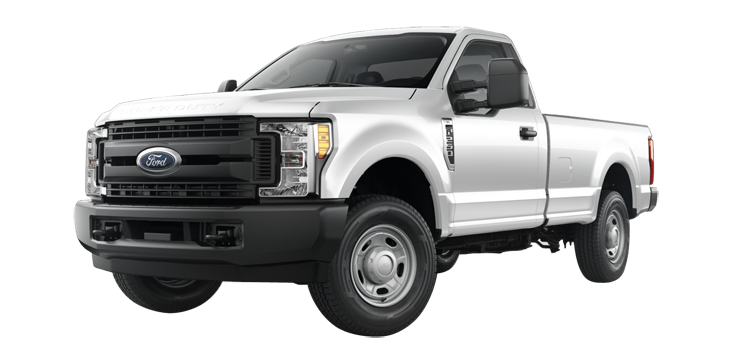 2017 Ford Super Duty F-250 Regular Cab 8' Box XL