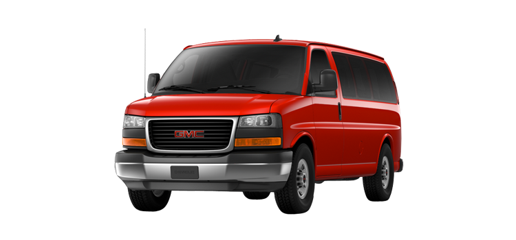 2017 GMC Savana Passenger Van