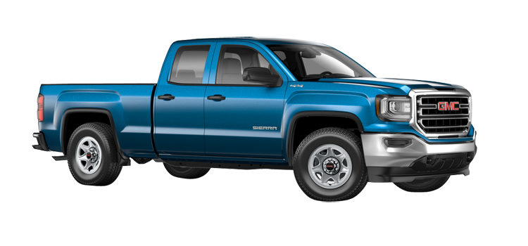2017 gmc sierra 1500 double cab standard box 4 door rwd pickup colorsoptionsbuild. Black Bedroom Furniture Sets. Home Design Ideas
