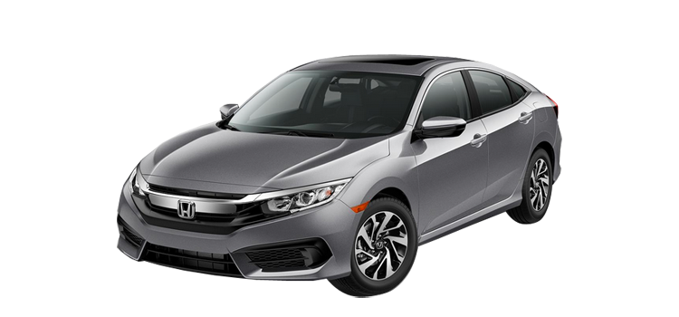 2017 Honda Civic EX-T 4D Sedan