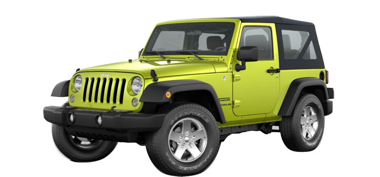 2017 Jeep Wrangler Sport 2 Door 4wd Suv 6m Colorsoptionsbuild