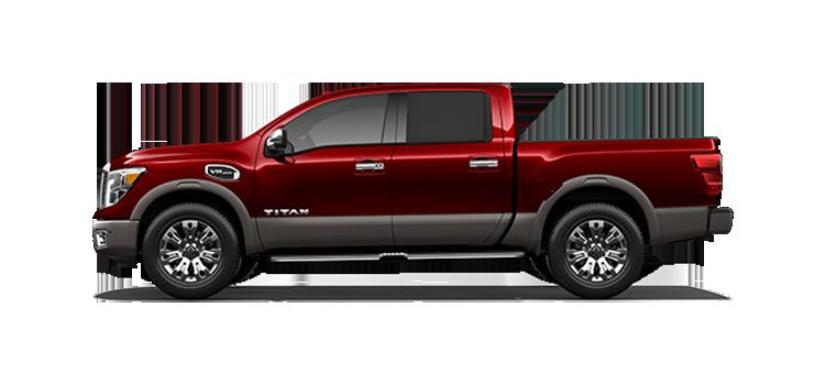 2017 Nissan Titan Gas Crew Cab Platinum Reserve