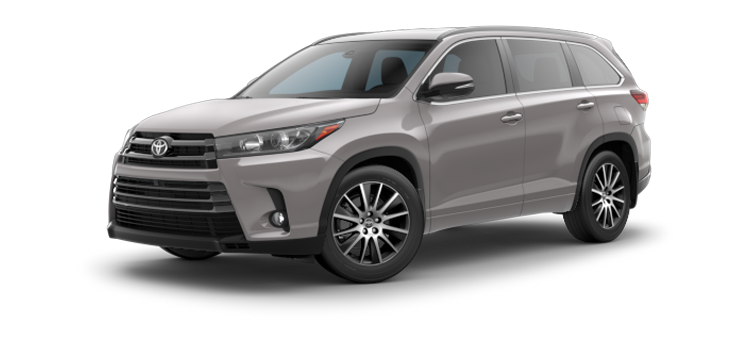 2017 toyota highlander v6 se 4 door awd suv 8a colorsoptions. Black Bedroom Furniture Sets. Home Design Ideas