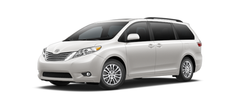 2017 toyota sienna 7 passenger xle premium 4 door awd minivan colorsoptionsbuild. Black Bedroom Furniture Sets. Home Design Ideas